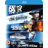 Produktbilde for Zero Dark Thirty/Lone Survivor/Green Zone/Contraband/Safe House (UK-import) (BLU-RAY)