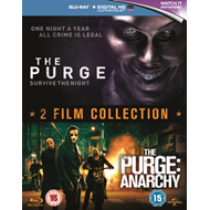 Purge/The Purge: Anarchy (UK-import) (BLU-RAY)