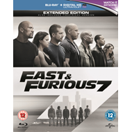 Fast & Furious 7 - Extended Edition (UK-import) (BLU-RAY)