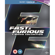 Produktbilde for Fast & Furious: 7-Movie Collection (UK-import) (BLU-RAY)