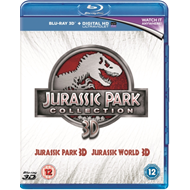 Jurassic Park/Jurassic World (UK-import) (BLU-RAY)