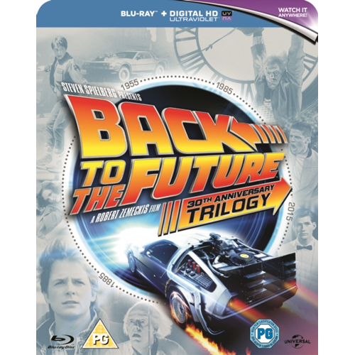 Back To The Future Trilogy (UK-import) (BLU-RAY)
