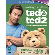 Ted/Ted 2 (UK-import) (BLU-RAY)