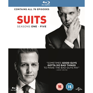 Produktbilde for Suits: Seasons One - Five (UK-import) (BLU-RAY)