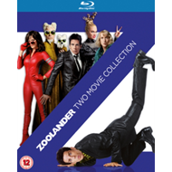 Produktbilde for Zoolander/Zoolander No. 2 (UK-import) (BLU-RAY)