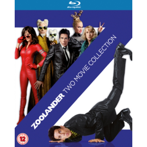 Zoolander/Zoolander No. 2 (UK-import) (BLU-RAY)