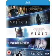 Witch/Crimson Peak/Maggie/The Visit/Unfriended (UK-import) (BLU-RAY)