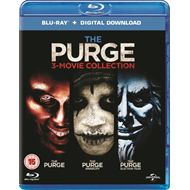 Produktbilde for The Purge: 3-movie Collection (UK-import) (BLU-RAY)