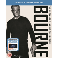 Produktbilde for Bourne: The Ultimate 5-Movie Collection (UK-import) (BLU-RAY)