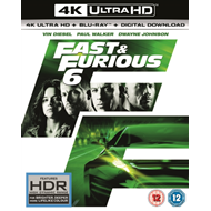 Fast & Furious 6 (UK-import) (BLU-RAY)