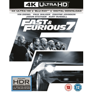 Fast & Furious 7 (UK-import) (BLU-RAY)