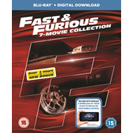 Fast & Furious: 7-Movie Collection (UK-import) (BLU-RAY)