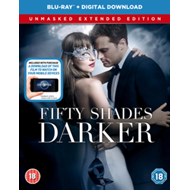 Fifty Shades Darker - The Unmasked Extended Edition (UK-import) (BLU-RAY)