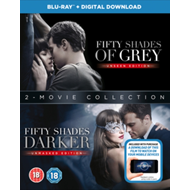 Fifty Shades: 2-Movie Collection (UK-import) (BLU-RAY)