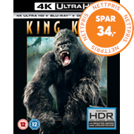 Produktbilde for King Kong (UK-import) (4K Ultra HD + Blu-ray)