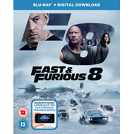 Produktbilde for Fast & Furious 8 (UK-import) (BLU-RAY)