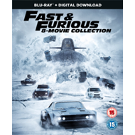 Produktbilde for Fast & Furious: 8-Movie Collection (UK-import) (BLU-RAY)