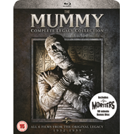 Mummy: Complete Legacy Collection (UK-import) (BLU-RAY)