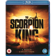 Scorpion King: 4-Movie Collection (UK-import) (BLU-RAY)