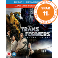 Transformers - The Last Knight (UK-import) (BLU-RAY)