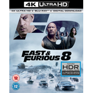 Fast & Furious 8 (UK-import) (BLU-RAY)
