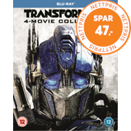 Produktbilde for Transformers: 4-Movie Collection (UK-import) (BLU-RAY)
