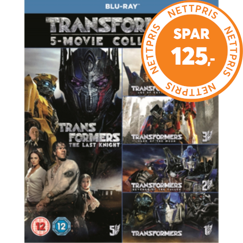 Transformers: 5-Movie Collection (UK-import) (BLU-RAY)