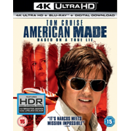 Produktbilde for American Made (UK-import) (4K Ultra HD + Blu-ray)