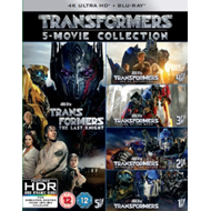 Produktbilde for Transformers: 5-Movie Collection (UK-import) (4K Ultra HD + Blu-ray)