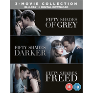 Fifty Shades: 3-Movie Collection (UK-import) (BLU-RAY)