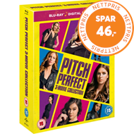 Produktbilde for Pitch Perfect Trilogy (UK-import) (BLU-RAY)