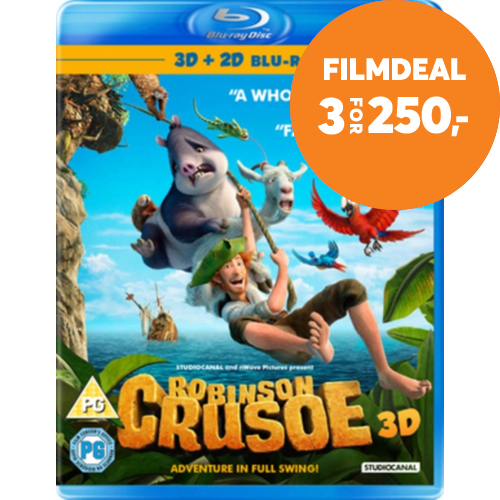 Robinson Crusoe (UK-import) (Blu-ray 3D)