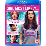 Produktbilde for Girl Most Likely... (UK-import) (BLU-RAY)