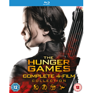Hunger Games: Complete 4-Film Collection (UK-import) (BLU-RAY)