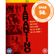 Produktbilde for Quentin Tarantino Collection (UK-import) (BLU-RAY)