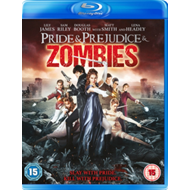 Produktbilde for Pride And Prejudice And Zombies (UK-import) (BLU-RAY)