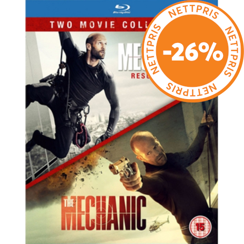 The Mechanic/Mechanic - Resurrection (UK-import) (BLU-RAY)