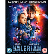 Valerian And The City Of A Thousand Planets (UK-import) (BLU-RAY)