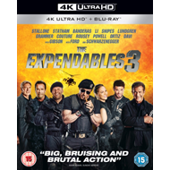 Produktbilde for The Expendables 3 (UK-import) (4K Ultra HD + Blu-ray)