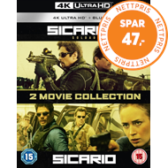 Sicario/Sicario 2 - Soldado (UK-import) (4K Ultra HD + Blu-ray)