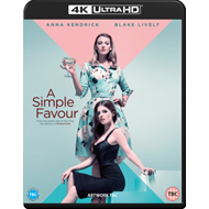 Produktbilde for A Simple Favour (UK-import) (4K Ultra HD + Blu-ray)