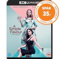 Simple Favour (UK-import) (4K Ultra HD + Blu-ray)