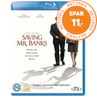 Saving Mr. Banks (UK-import) (BLU-RAY)