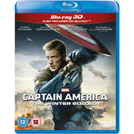 Produktbilde for Captain America: The Winter Soldier (UK-import) (Blu-ray 3D + Blu-ray)