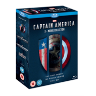 Captain America: 3-Movie Collection (UK-import) (BLU-RAY)