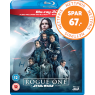 Produktbilde for Rogue One: A Star Wars Story (UK-import) (Blu-ray 3D + Blu-ray)