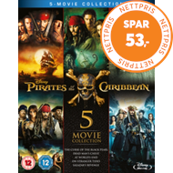 Produktbilde for Pirates Of The Caribbean: 5-Movie Collection (UK-import) (BLU-RAY)
