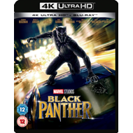 Produktbilde for Black Panther (UK-import) (4K Ultra HD + Blu-ray)