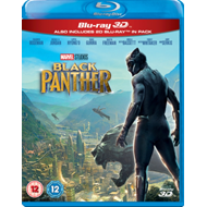 Produktbilde for Black Panther (UK-import) (Blu-ray 3D)