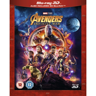Produktbilde for Avengers: Infinity War (UK-import) (Blu-ray 3D)